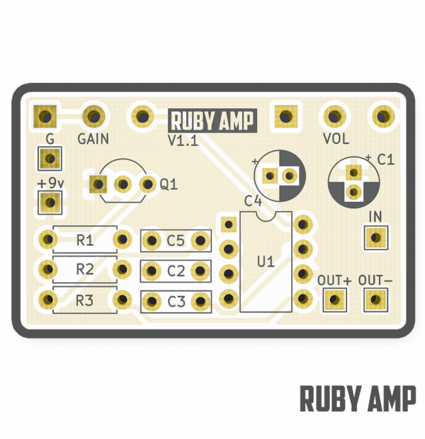 Ruby Amp - Five Cats Pedals