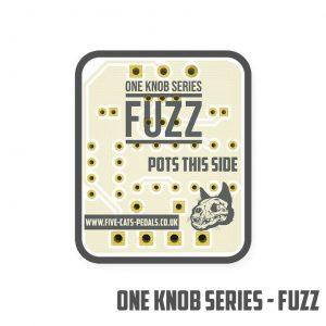 One Knob Fuzz Guitar PCB - Fuzz 5 Variant board!