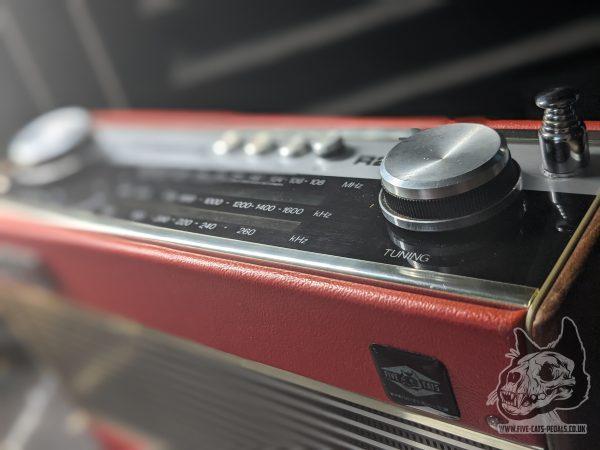 Roberts Transistor Radio - Ruby Guitar Amp in Red